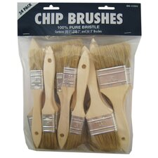 24 Count Assorted Chip Brushes