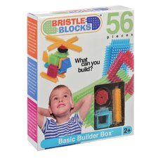 Bristle Blocks Set Toy (56 Pieces)