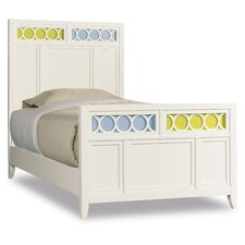 Lily Colors Panel Bed