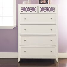 <strong>Opus Designs</strong> Lily 6 Drawer Chest