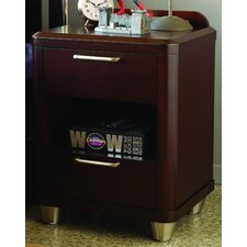 <strong>Opus Designs</strong> Aura 2 Drawer Nightstand