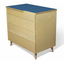 <strong>True Modern</strong> 11 Ply 4 Drawer Dresser