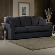Cary 3 Seater High Back Sofa