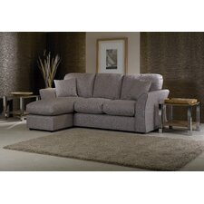 Cary 3 Seater High Back Chaise Sofa