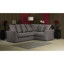 Cary 4 Seater Corner Pillow Back Sofa