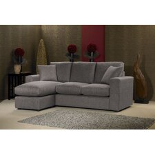 Lauren 3 Seater High Back Chaise Sofa