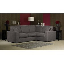 Lauren 4 Seater High Back Corner Sofa