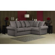 Lily 4 Seater Pillow Back Corner Sofa