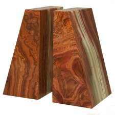 Saffron Brown Zeus Book Ends (Set of 2)