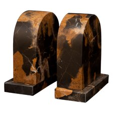 Marble Metis Book Ends (Set of 2)