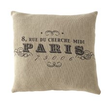 Paris Square Pillow