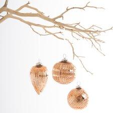 3 Piece Bologna Ornaments Set
