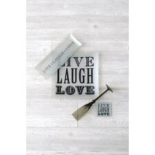 """Live Laugh Love"" Coasters (Set of 4)"