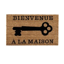 """Bienvenue"" Door Mat"
