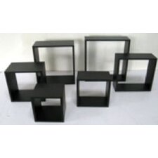 Wall Cube Ensemble (Set of 6)