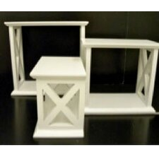 X-Sided Wall Cube (Set of 3)