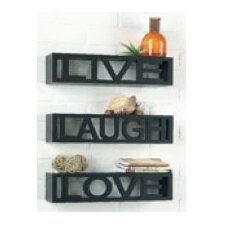 Sentiment Wall Ledge (Set of 3)