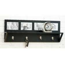 Collage Wall Shelf with Hook