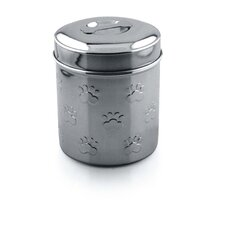 Metal Dog Treat Jar (15cm)