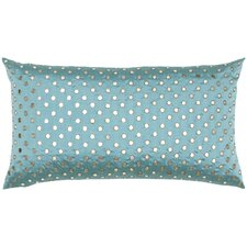 Dupioni Mirrorwork Silk Pillow