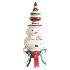 Snowman and Bow Table Piece