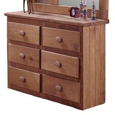 Mini 6 Drawer Dresser