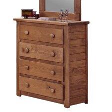 Jumbo 4 Drawer Dresser