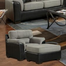 Lancaster Chair and Ottoman