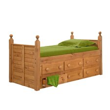 <strong>Chelsea Home</strong> Twin Captain's Bed with 6 Drawers