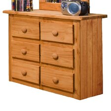 <strong>Chelsea Home</strong> Mini 6 Drawer Dresser