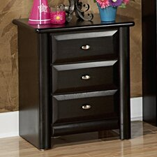<strong>Chelsea Home</strong> 3 Drawer Nightstand