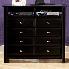 8 Drawer Media Chest