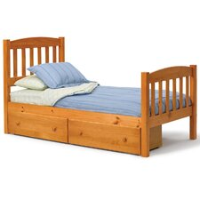 Slat Bed with Underbed Storage