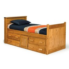 <strong>Chelsea Home</strong> Captain Bed with Underbed Storage