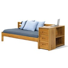 Daybed with Reversible End Storage