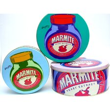 Marmite Pop Art 20cm Cake Tin (Set of 3)