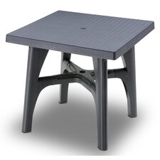 Intrecciata Square Resin Bistro Table