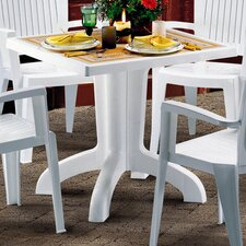 Daytona Square Plastic Dining Table