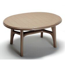 Ovolone Oval Plastic Dining Table