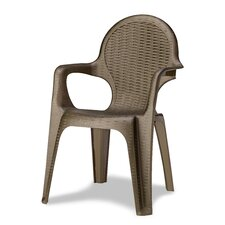 Intrecciata Stackable Arm Chair