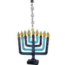 Holiday Menorah Decorative Accent (Set of 3)