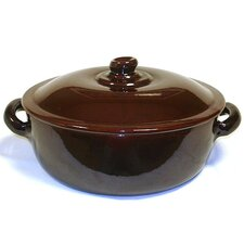 Terracotta 4.5-qt. Saucier with Lid