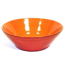 "Terracotta 9.5"" V-Shaped Bowl"
