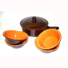 <strong>Piral</strong> Terracotta 6-Piece Cookware Set