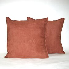 Faux Suede Decorative Pillow (Set of 2)