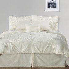 Pintuck Plush Comforter Set