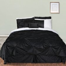 Pintuck Plush Comforter Set