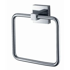 Mezzo Towel Ring in Chrome