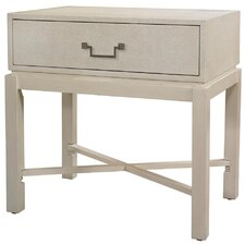 <strong>HGTV Home</strong> Pearlized Shagreen End Table