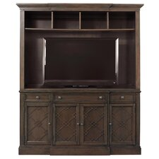"<strong>HGTV Home</strong> Meadowbrook Manor 73"" TV Stand with Hutch"